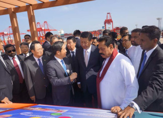 Colombo port project gets underway
