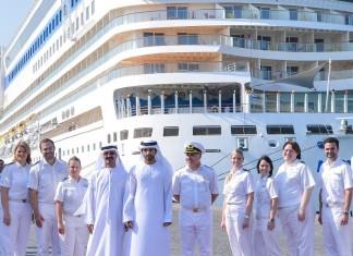 Crown prince inaugurates ultra-modern cruise terminal