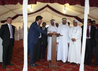 Sharjah ports celebrates keel laying
