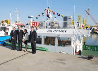 Albwardy hands over patrol vessel