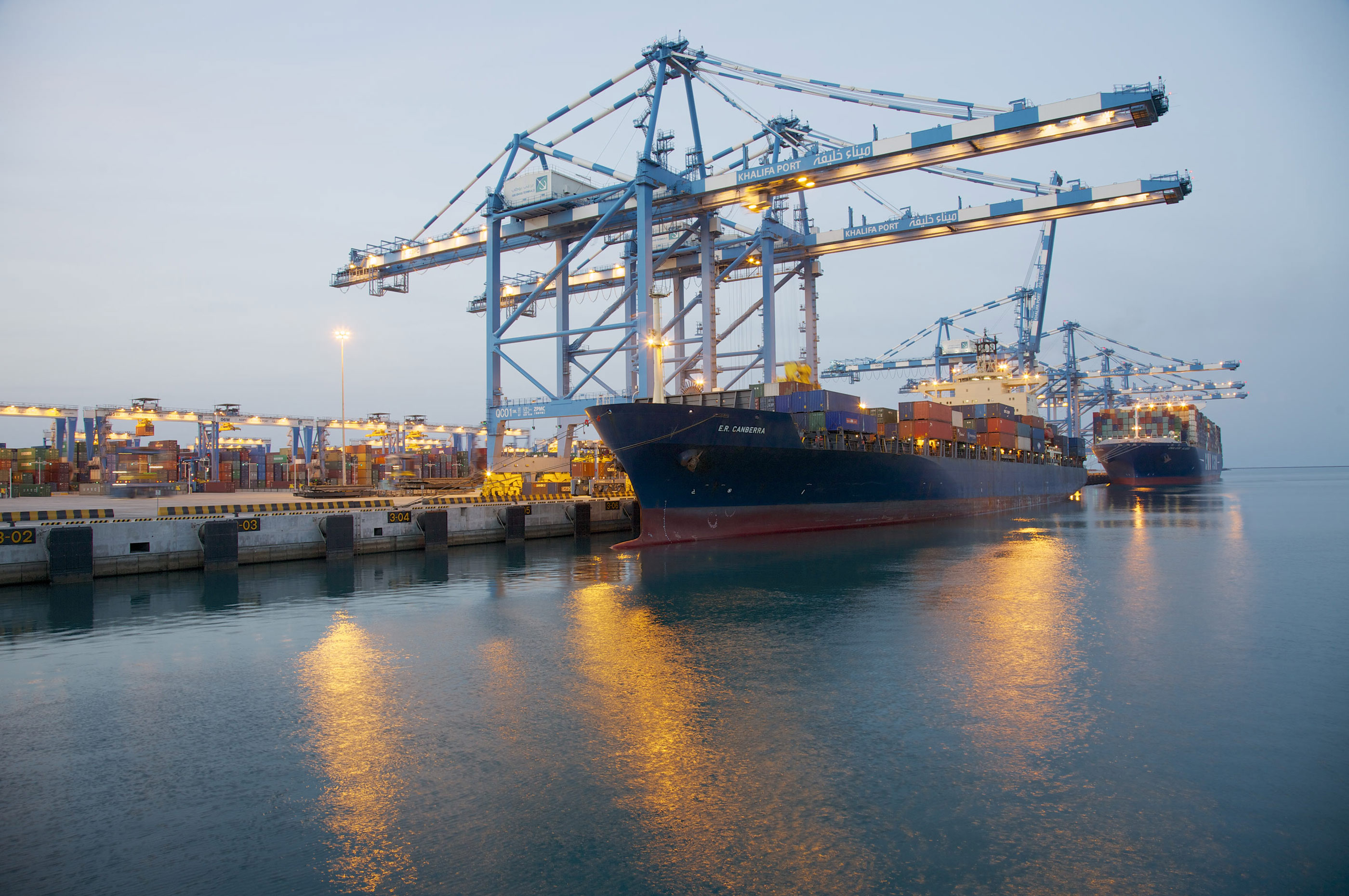 Big increase in Abu Dhabi ports cargo volume - Latest ...