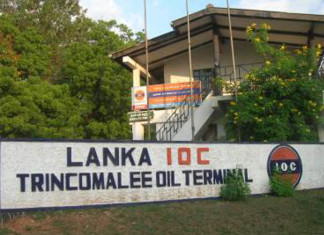 Trincomalee bunkering starts up