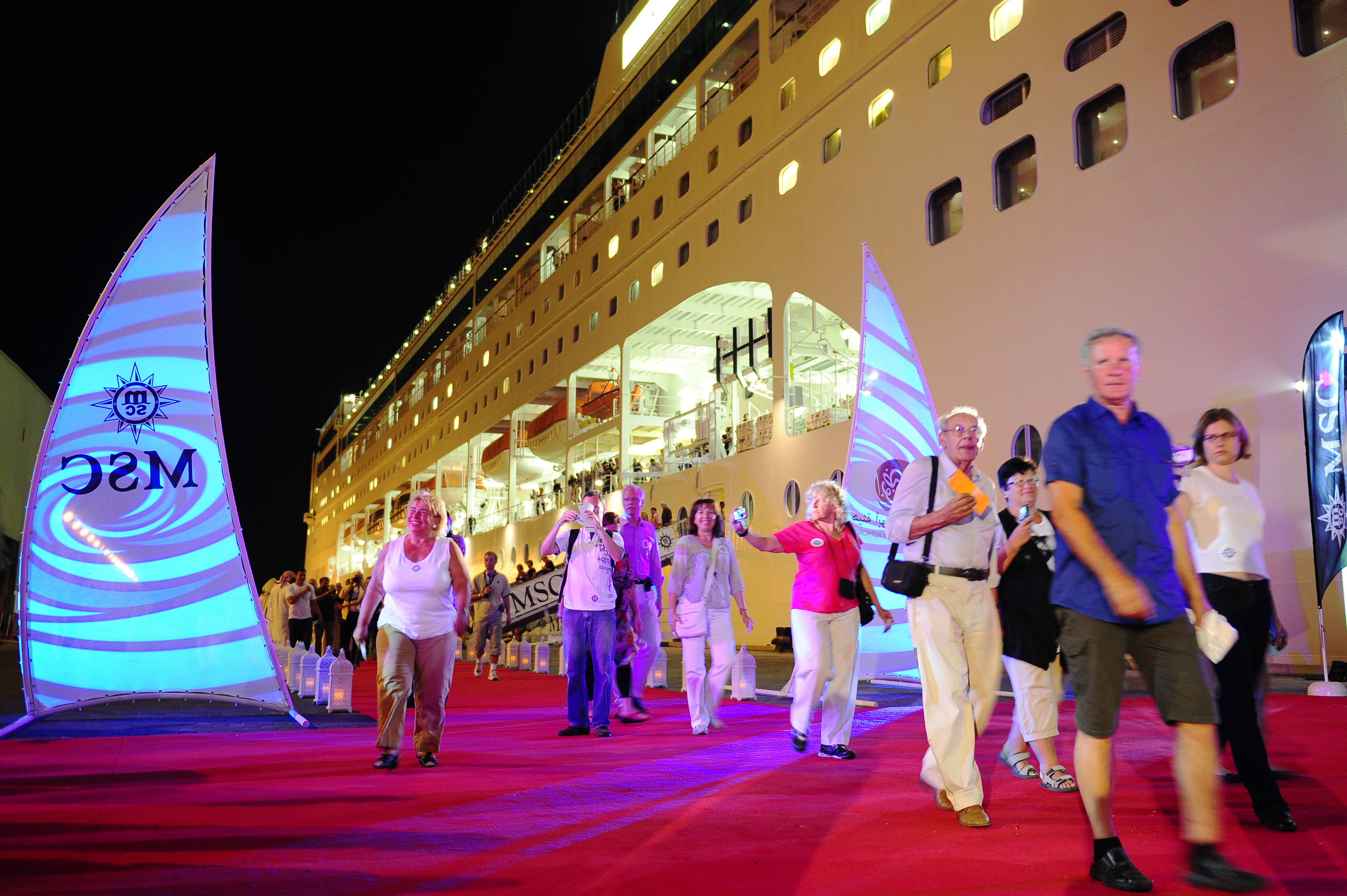 Abu Dhabi Opens Cruise Terminal Latest Maritime