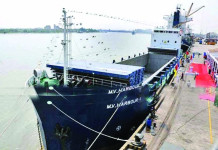 Direct shipping links between India and Bangladesh get underway