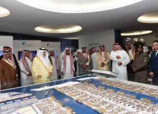 Royal visitor- His Highness Prince Khalid Alfaisal