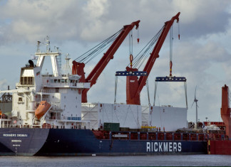 Bahri Charters space from Rickmers