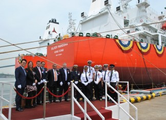 Tristar takes delivery of first new tanker
