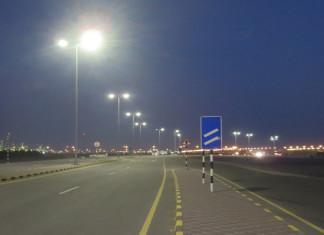LED lighting at Sohar