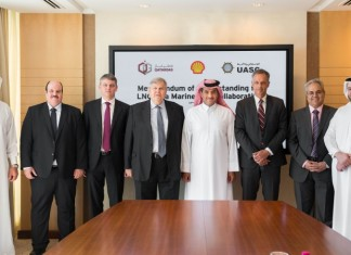 UASC is teaming up with Qatargas and Shell to explore the development of LNG as a marine fuel in the Middle East region.