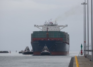 Panama Canal Extension Opens