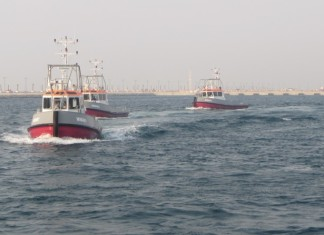 NSDQ has delivered 5 workboats