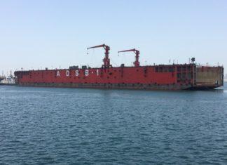 ADSB commissions floating dock