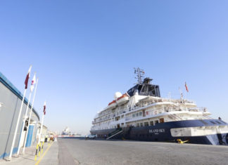 Azamara vessel welcomed at Doha Port