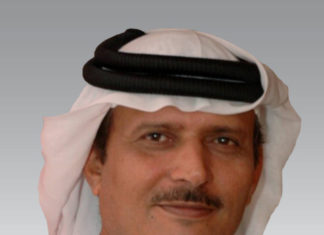 Managing Director and Group CEO of Gulf Navigation, Khamis Juma Buamim