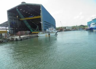 Temba Shipyards building two tugs for opertaions in the Andaman Islands