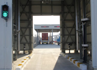 Hutchison Ports Sohar automated terminal gates