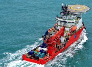 Middle East waters see the return of Pacific Radiance offshore support vessels