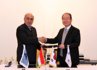 Deal signed between DSME and IDRO for establishing a joint Korean-Iranian shipbuilder in Iran