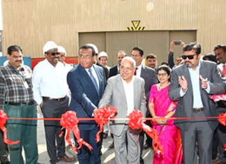 The opening ceremony for the Solas facility at ASRY