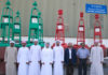 The first cohort to attend the Safeen IALA trading course at Abu Dhabi Ports' marine workshops