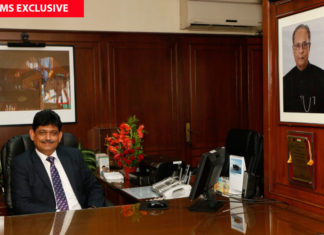 Capt. Anoop Kumar Sharma, chairman and managing director of the Shipping Corporation of India (SCI)