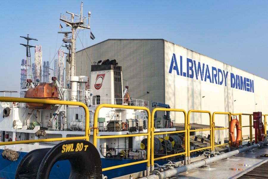 Albwardy Damen name change announced - Latest Maritime