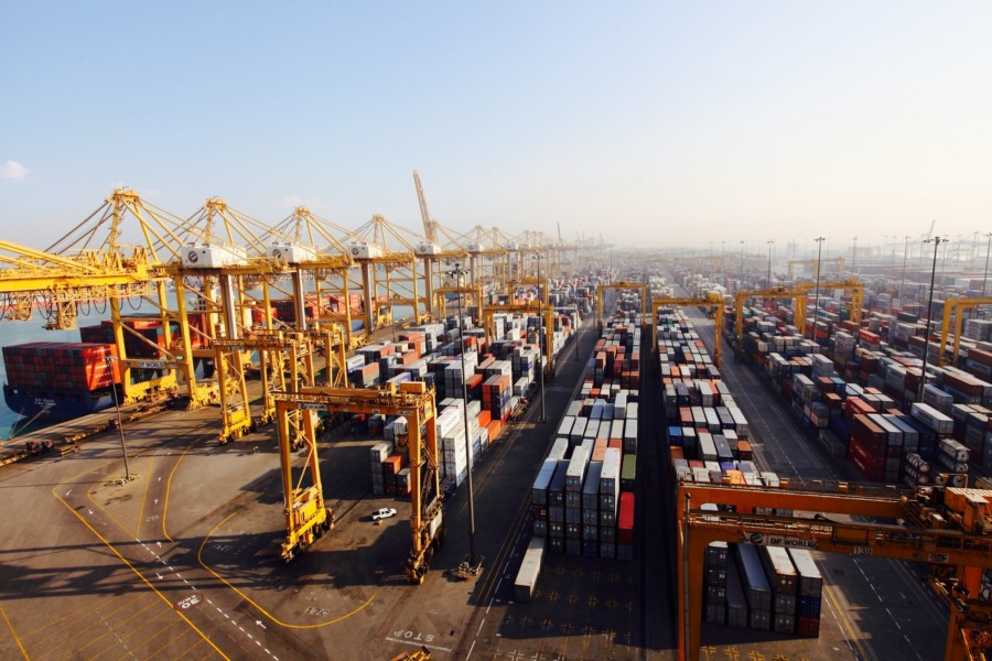 Throughput at Jebel Ali was down in 2016