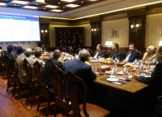 IRClass presenting to the Iranian maritime community and PMO officials in Tehran
