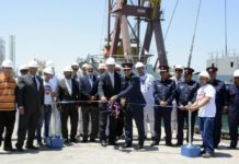 ASRY-built landing craft launched in Bahrain