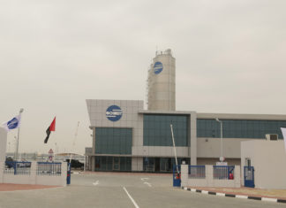 Schmidt's new logistics facility in Abu Dhabi