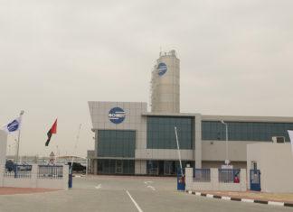 Schmidt's new logistics facility in Abu Dhabi