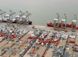 DP World 's global business will seen the benefit of The Alliance's decision to call at the group's terminals in the UK