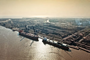 Essar is currently expanding capacity at Hazira port
