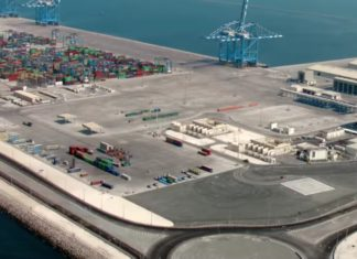 The Khalifa Port Free Zone is to be enlarged