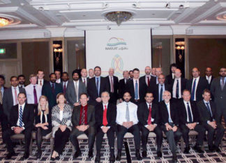 Participants at the 21st Qatar Project Shipping Forum meeting