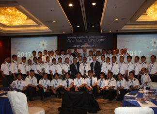 Participants at Bahri's crew conference in the Philippines