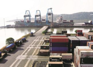 Container throughput at JNPCT broke records this April