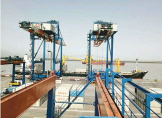 Kandla port now has a direct connection to Bandar Abbas, Iran