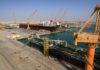 Sohar Max in dock at ODC