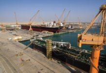 Oman Drydock receives largest vessel yet