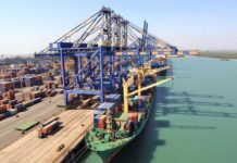 Adani starts construction of transshipment port