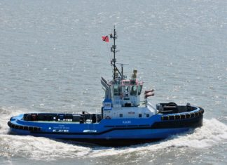 The Reyser fleet includes tugs operating in a joint venture in Port of Spain, Trinidad and Tobago