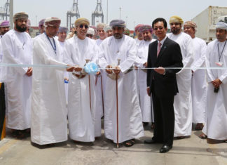 The official opening ceremony for the Auto Gate taking place in May this year