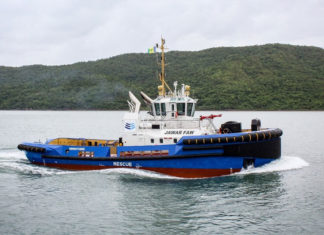 The tug Jawar Faw is being used to assist VLCCs berthing at Iraqi oil terminals
