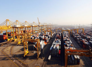 Jebel Ali is expected to handle over 15 million teu this year