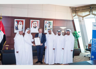 Tasneef-Rina presenting Bosch with its ISO 37001:2016 Anti-bribery Management System certificate