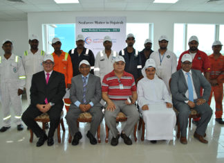 Seafarer screening took place at the Fujairah Medical Centre
