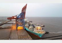 Largest vessel yet calls into Pipavav