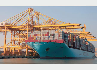 Container throughput at Jebel Ali is on the rise, helping to boost DP World revenues