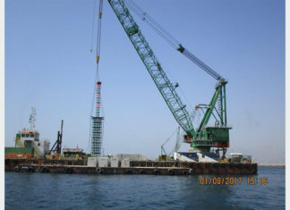The first block was recently laid at Saqr Port to mark the start of the portly expansion project
